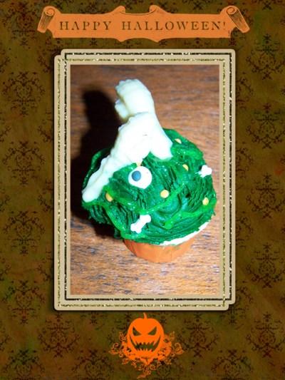 Blog de chipiron :Un chipiron dans les Landes, Cup cake halloween vert