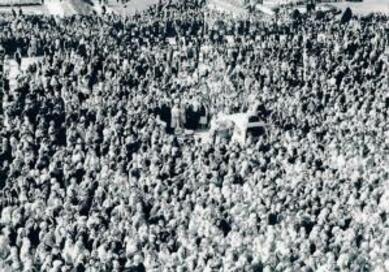 Septembre 1959 : gloire au président de la nouvelle République !