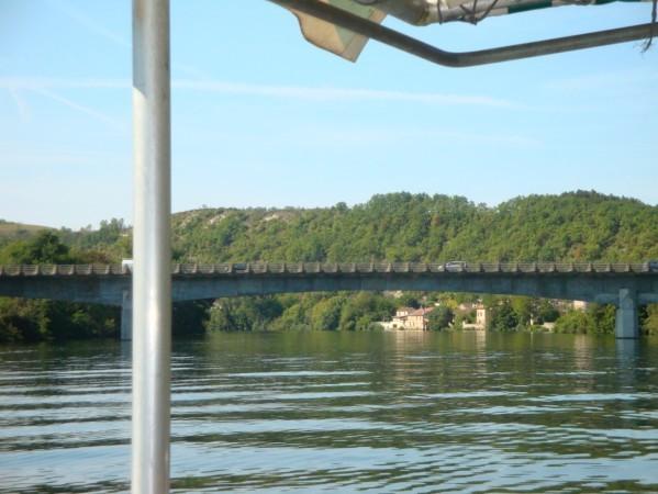 Gabarre, le Pont de l'Europe