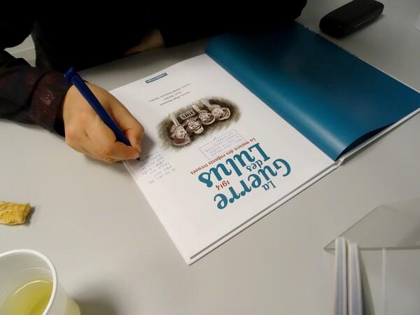 """""""La journée de l'écrit"""" sur le conflit 14-18 organisée par la Bibliothèque Municipale au Musée du Pays Châtillonnais"""