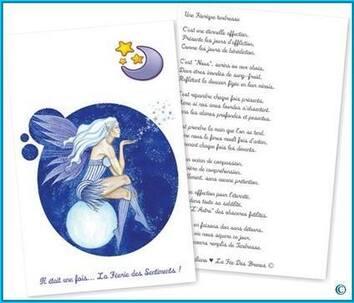 ★ Cartes illustrées + Textes ©