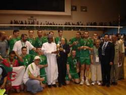 Volleyball: Un triplé historique