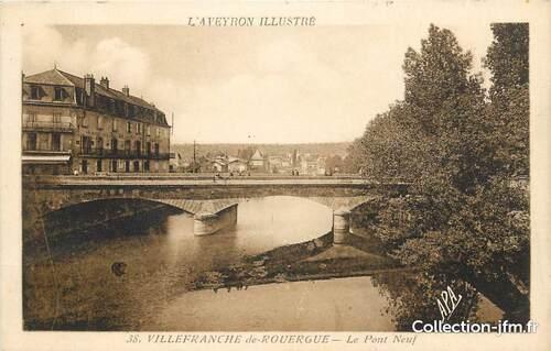 10 - L'Aveyron, les ponts et les quais