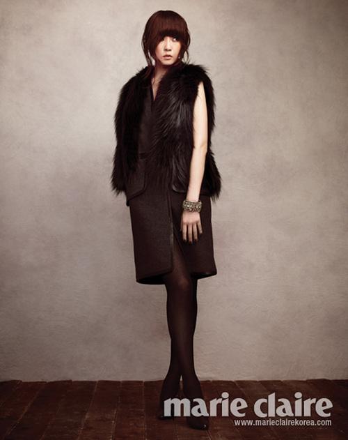 Kim Sun Ah pour Marie Claire