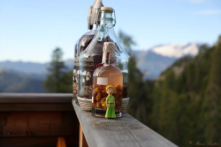 Le Petit Prince dans les Dolomites, Italie 2020