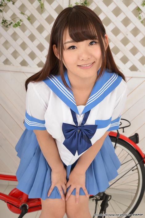 WEB Gravure : ( [LOVEPOP] - |PHOTO 2016.07.22 No.418 - Vol.01| Kurumi Kawane/河音くるみ )