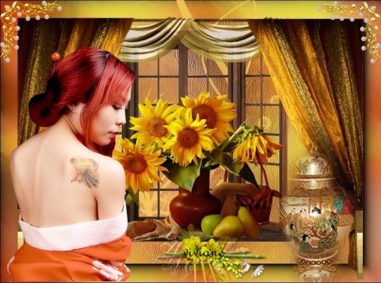 Bouquet de tournesols