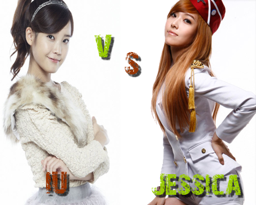 IU vs Jessica (SNSD) - Round 14