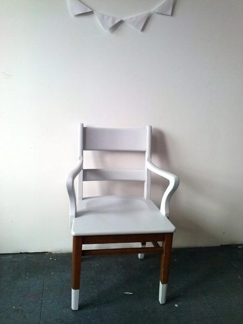 Collection GRIGRIS PERLE : le fauteuil immaculé