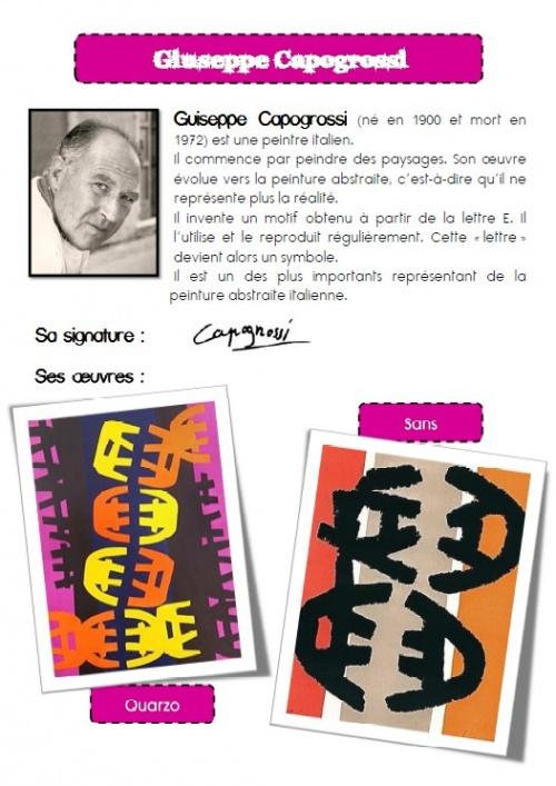 Les initiales - G. Capogrossi