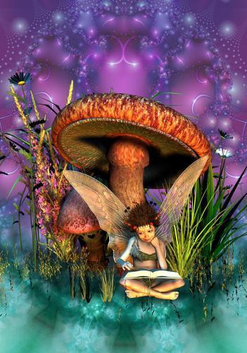 Fée champignon 02