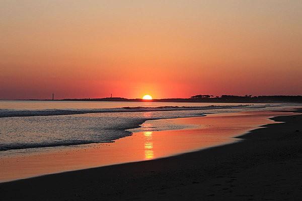 coucher de soleil sur Bonne Anse depuis la Grande Côte12