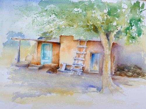 la maison de Pueblo