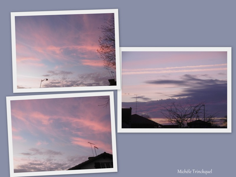 Le ciel au matin du 13 février...