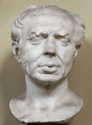 Buste présumé de Marius,Musée Chiaramonti, Rome.