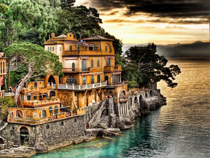 前往阳光明媚的意大利!