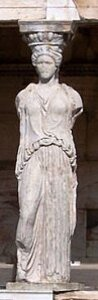 120px-column from porch of the caryatids