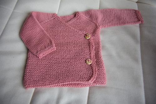 Mylène - Tricot bébé : Lil Kimono