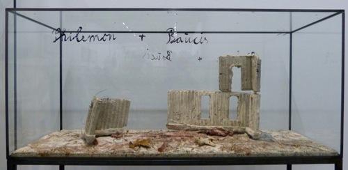 Les vitrines d'Anselm Kiefer, mythologie et alchimie