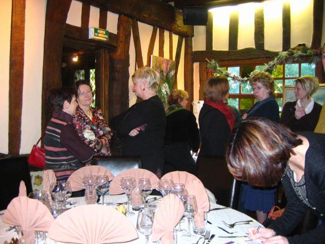 Dimanche 16 décembre, repas de Noël du Club à la Taverne Alsacienne à Bonsecours