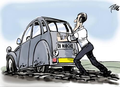 Le chaos par Macron