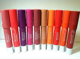 Article Cinq : Test de produit -> Baume à lèvre mat Colorburst, REVLON