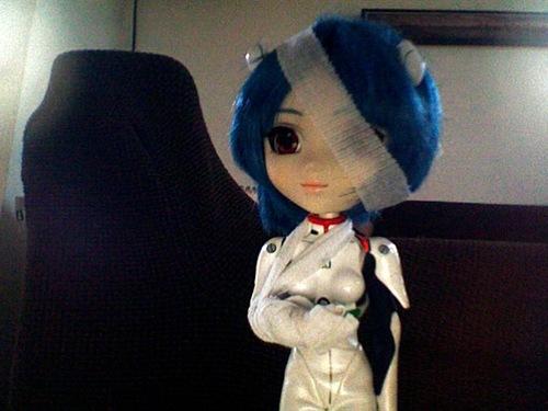 petite séance photo de Rei