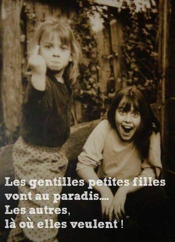 les gentilles petites filles