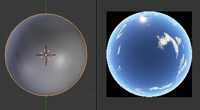 L'image du ciel dans le UV/Image Editor