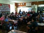 Qu'étaient donc venus faire les élèves de CP-CE1 dans la classe de CM, mercredi  2 mars ?