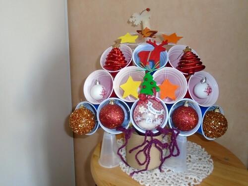 Le sapin de Noël des ptiotes poupées