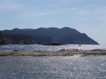 Sur le Petit Gaou, vue sur le Cap Sicié