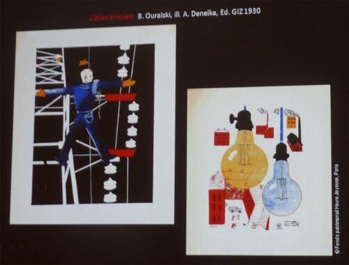 Béatrice Michielsen : Conférence autour d'un catalogue de livres russes pour enfants (1931)