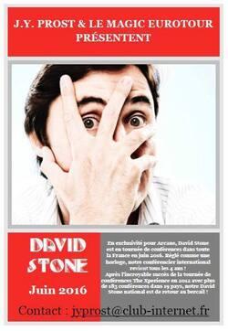 Coonférence Magie - David Stone