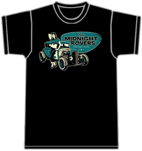 The Midnight Rovers - T-shirt noir