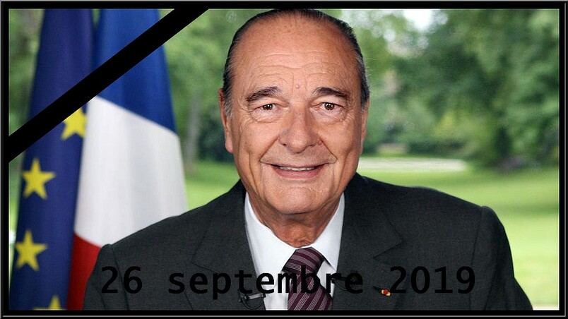 Hommage Jacques Chirac