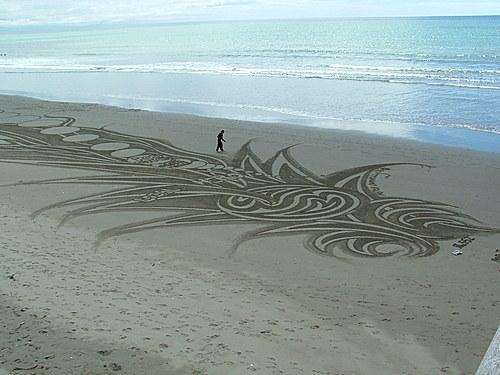 Petre Donelly, le danseur de sable