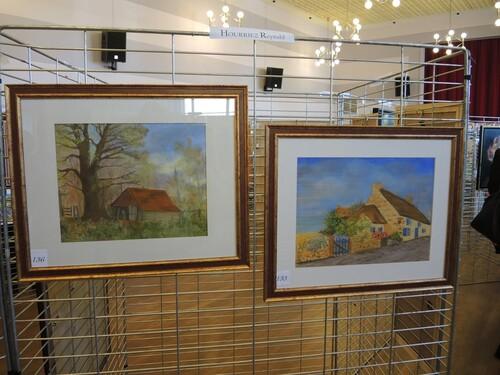 Exposition du Paint Club à Annay