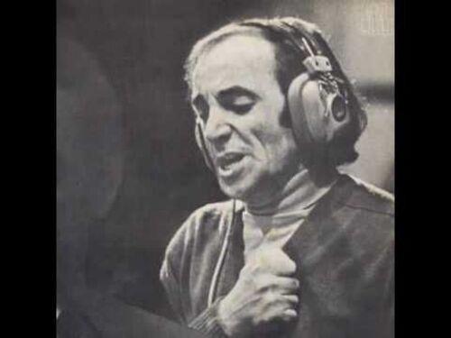 CHARLES AZNAVOUR - Le Cabotin (1968) Chansons françaises)