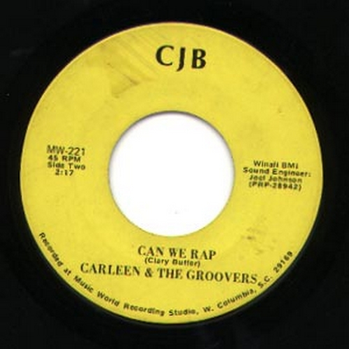 Carleen & The Groovers : Can We Rap