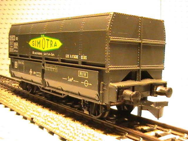 hornby acho - Wagon couvert et le transport de minerai.