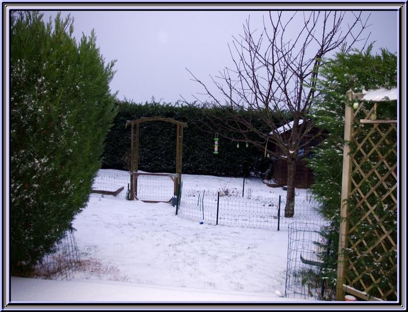 Neige du 05 février en Charente Maritime