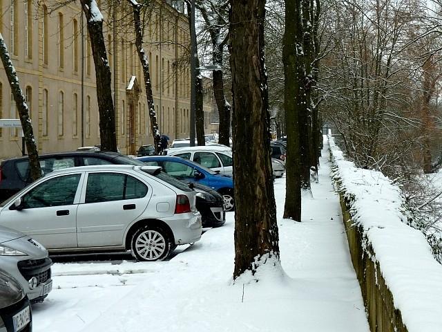 Neige sur Metz 26 Marc de Metz 12 02 2013