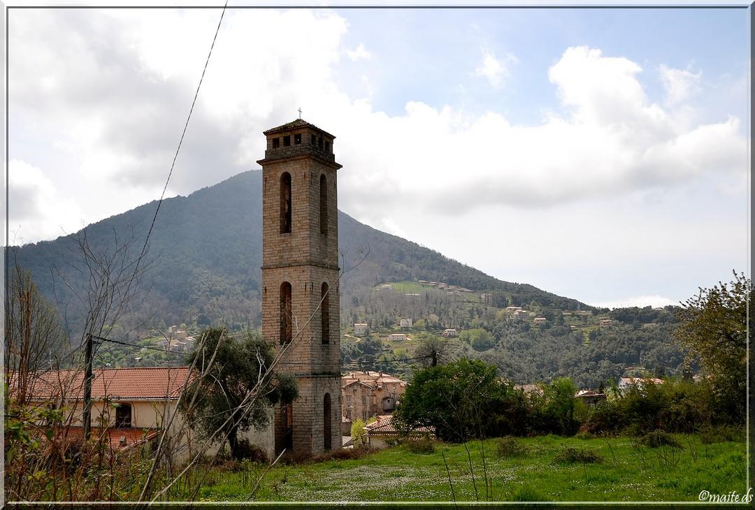 Eglise Ste-Marie-Vico-Corse-11 avril 2014