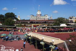 Magic Kingdom - Entrance