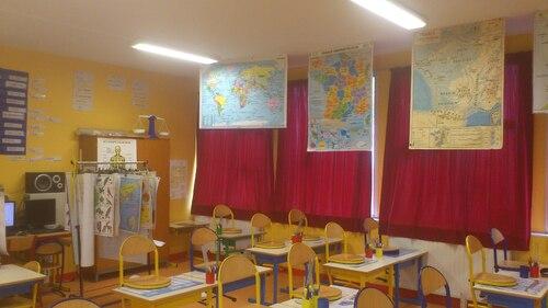 Organiser les affichages dans une classe de CE1