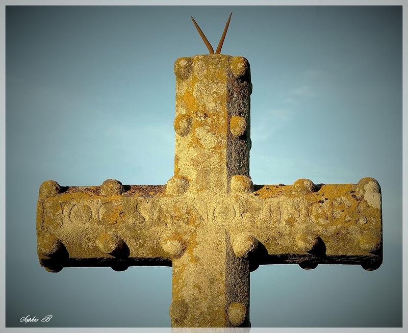 Les croix de peste .