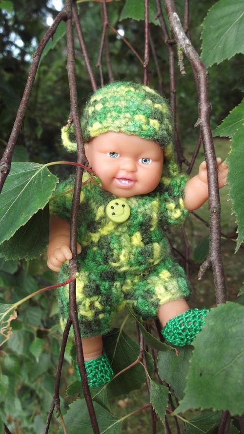Pirlouit en camouflage !