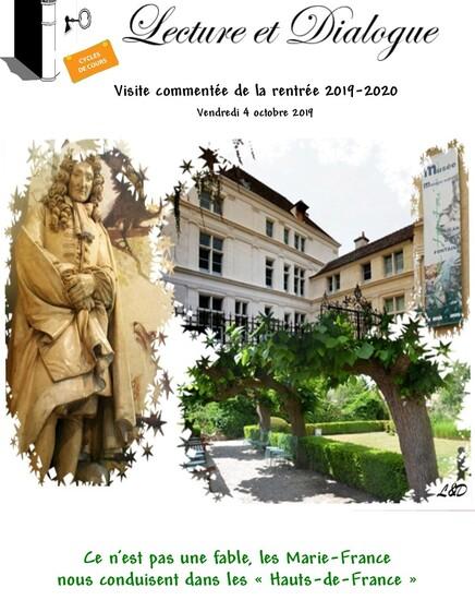"La petite ""sortie de rentrée""  octobre 2019"