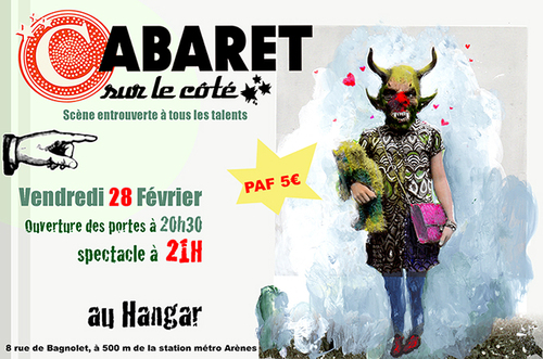 31 janvier: Cabaret sur le côté
